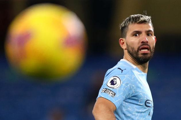 Pep Guardiola opens the door for Sergio Aguero to complete shock Chelsea transfer / - Bóng Đá