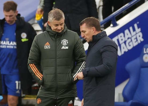Leicester boss Brendan Rodgers fires warning to Manchester United - Bóng Đá