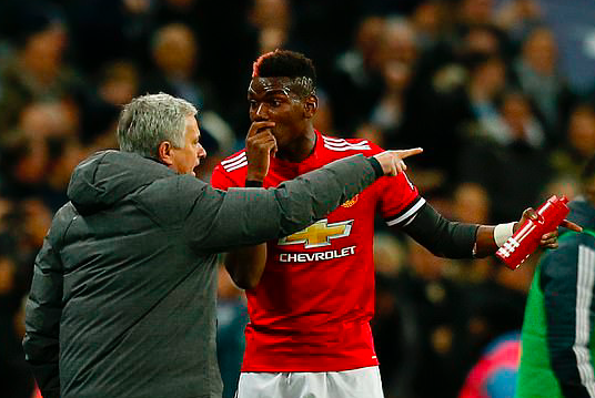 Jose Mourinho hits back at Paul Pogba by insisting he 'could not care less about what he says' - Bóng Đá