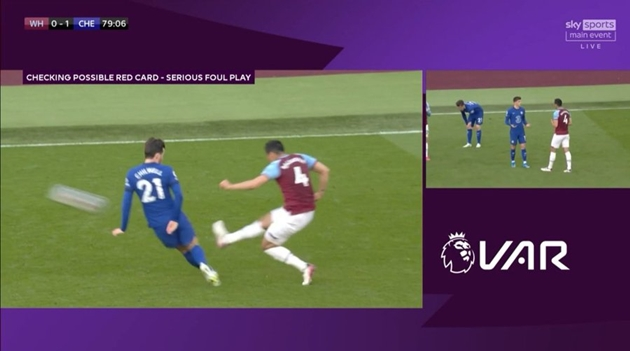 'VAR IS A JOKE' David Moyes and Lingard fume at costly VAR decision as West Ham lose ground in Champions League race to Chelsea - Bóng Đá