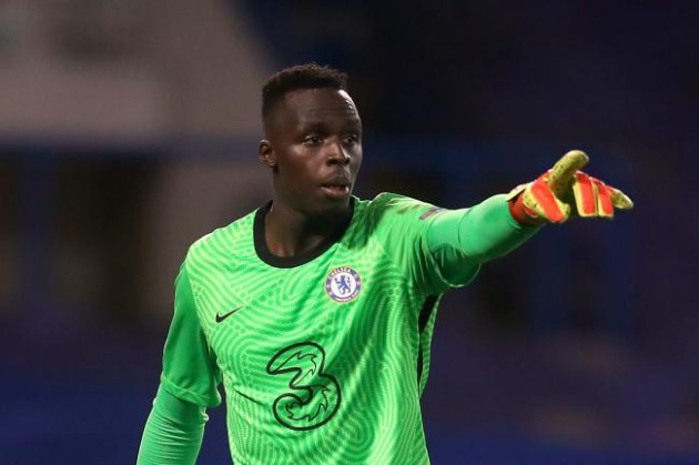 Édouard Mendy has kept 8 clean sheets in 11 Champions League games this season. No goalkeeper has ever kept nine in their debut campaign - Bóng Đá