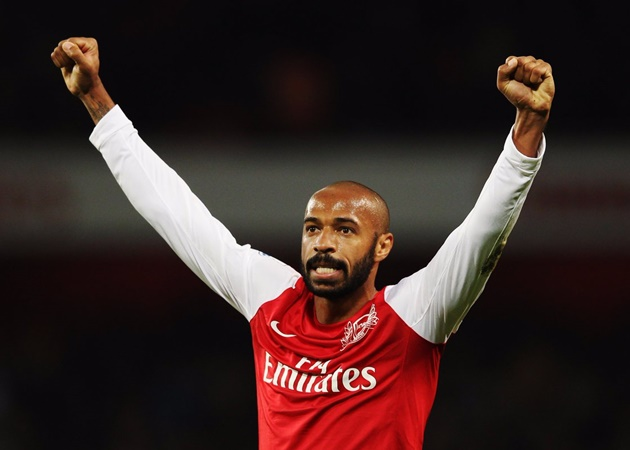 Thierry Henry doubles down with his thoughts on the prospect of taking Arsenal job - Bóng Đá